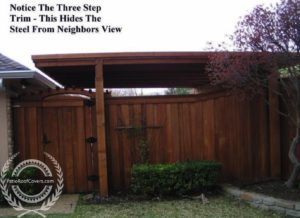 Browse Our Patio Cover Examples. Flat Carport   Cedar And Steel