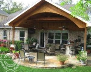 Patio Roof Covers | Gable Roofs Attached To House
