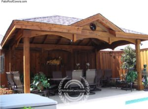 Hip Ridge Roofs Free Standing Patio Roof Covers