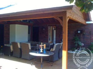 Gable Roofs Attached To House - Patio Roof Covers