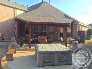 Shed Style Roof Covers Patio Roof Covers